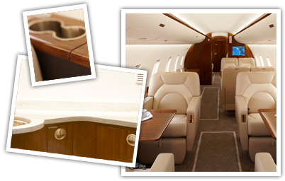 Aviation Interiors - Townsend Leather