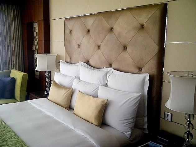 renaissance shanghai putuo hotel  headboard leather  townsend, Headboard designs