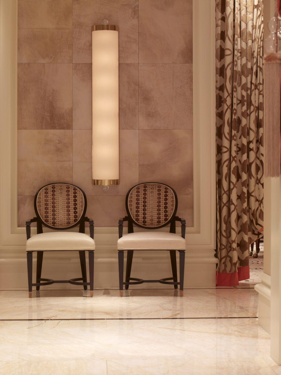 Wynn casino baccarat room tlc rtc faux parchment tiles 2 for Wynn design and development las vegas