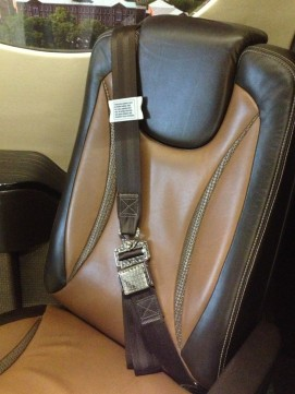 Constant Aviation's NBAA Mock-Up Seats