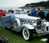Custom 1936 Roadster Interior at Pebble Beach Concours d'Elegance