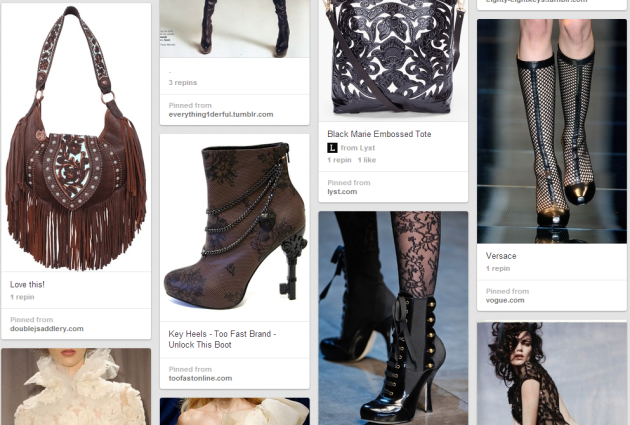 leather and lace pinterest