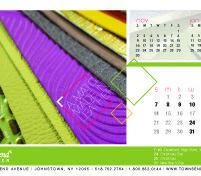 Townsend Leather's 2014 Calendar