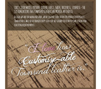 For the LOVE of Leather, Reason 10 – It is so Easy to Customize
