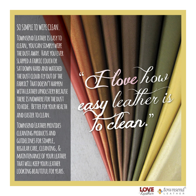 For The LOVE of Leather_12_Easy to Clean