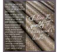 For the LOVE of Leather, Reason 13 – Highest Quality