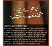 For the LOVE of Leather, Reason 2 – It's Natural
