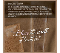 For the LOVE of Leather, Reason 8 – The Smell