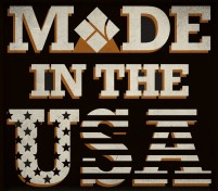 Happy 4th of July! Proud to be Made in the USA