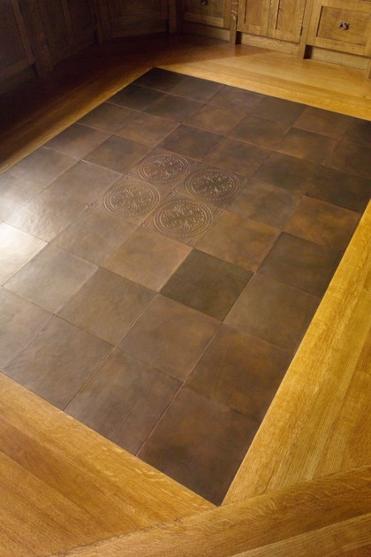 Townsend Leather Residential_Leather Floor Tiles (2)