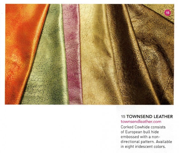 Townsend Leather in Boutique Design