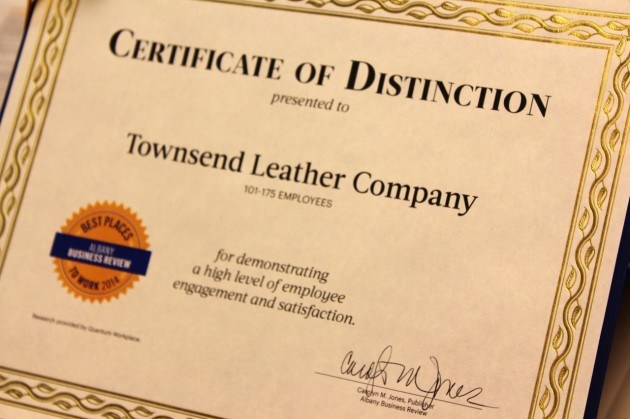 Townsend Leather Albany Business review Best Place to Work 2014 (4) (1280x853)