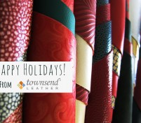 Happy Holidays!  A look back at Townsend Leather in 2014