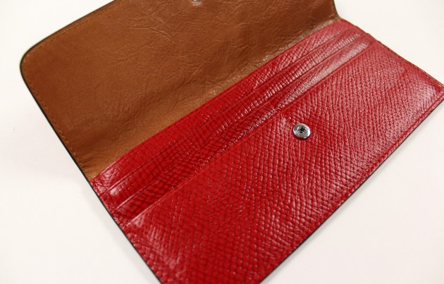 Townsend Leather Radiance Effect Radiance Claret Boxboard TL Townsend Leather Wallet