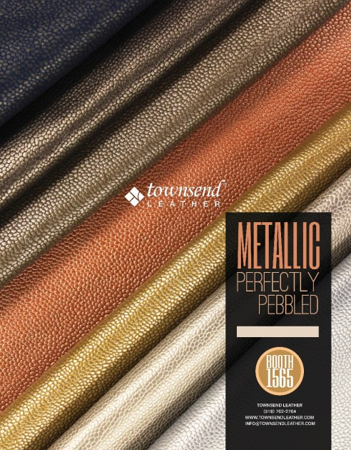 Townsend Leather Metallic Perfectly Pebbled Hospitality Design AD (999x1280)