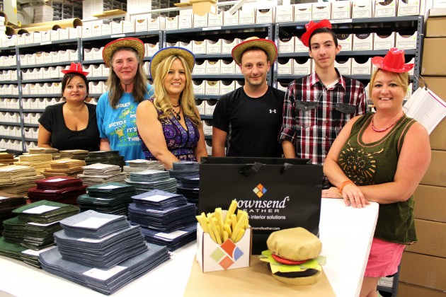 Townsend Leather Sample Department Burger Chefs