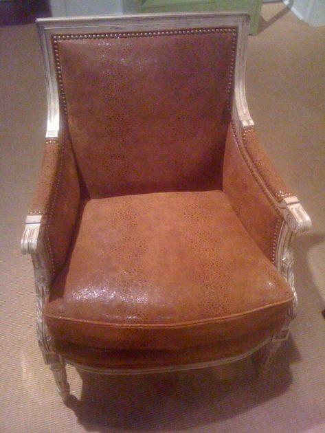 Hancock & Moore Chameleon Caramel chair