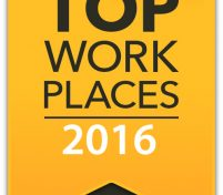Townsend is a Top Work Place of 2016!