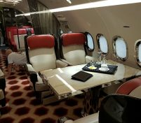 Aviation Interior Spotlight – Edese Doret Royal Jet