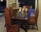 Dining Room Pebble Woven Hopi Blanket