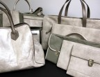 Handbags and Accessories in custom Komodo embossed leather