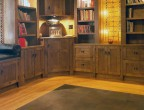 Custom Leather Floor Tiles