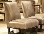 Aniline Gaufrage Pewter Mosaic GFA-6221-MS on Open Villa chairs