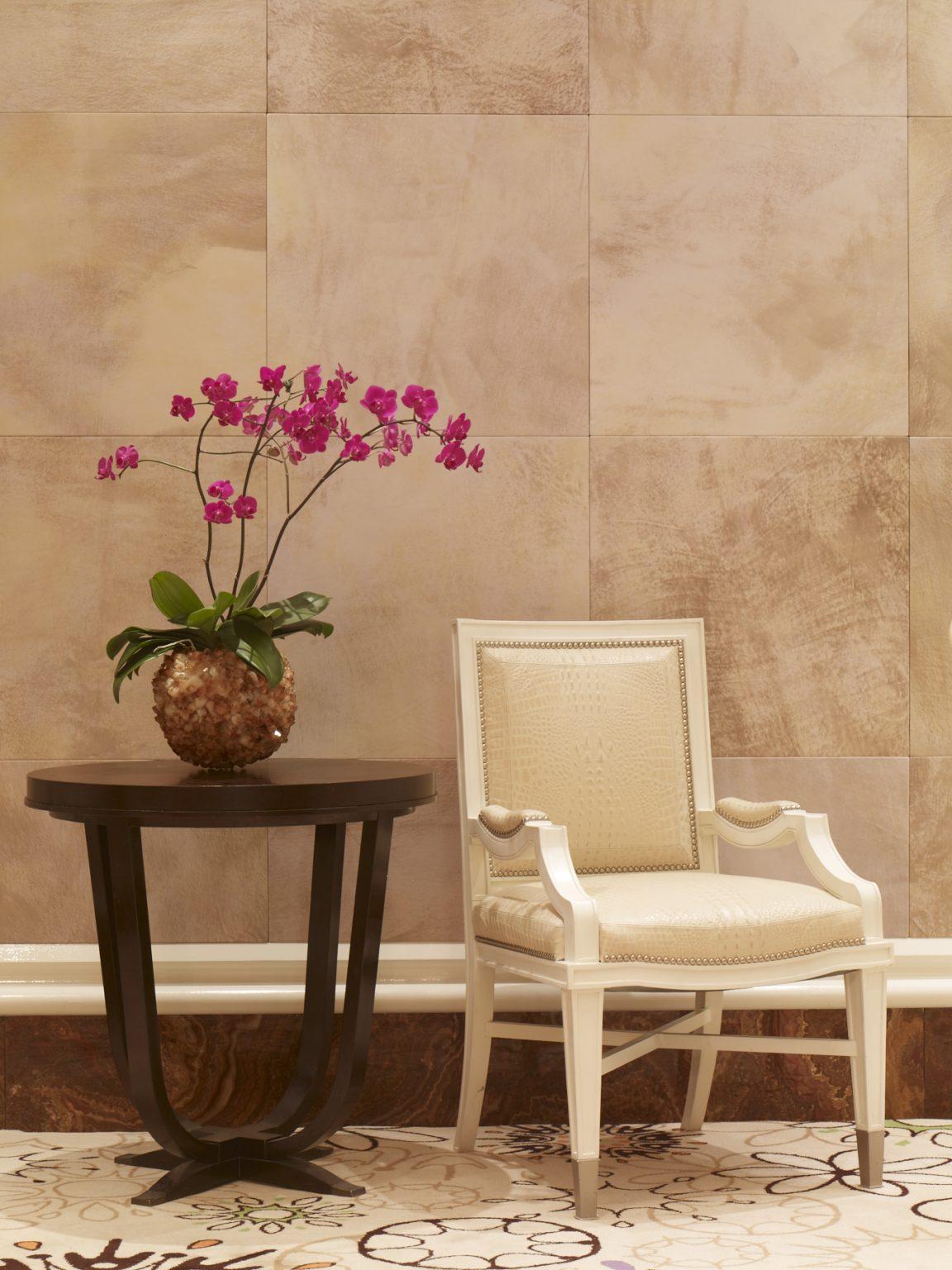 Wynn Baccarat Room Tlc Rtc Faux Parchment Tiles 1 Designer Design Development Las Vegas